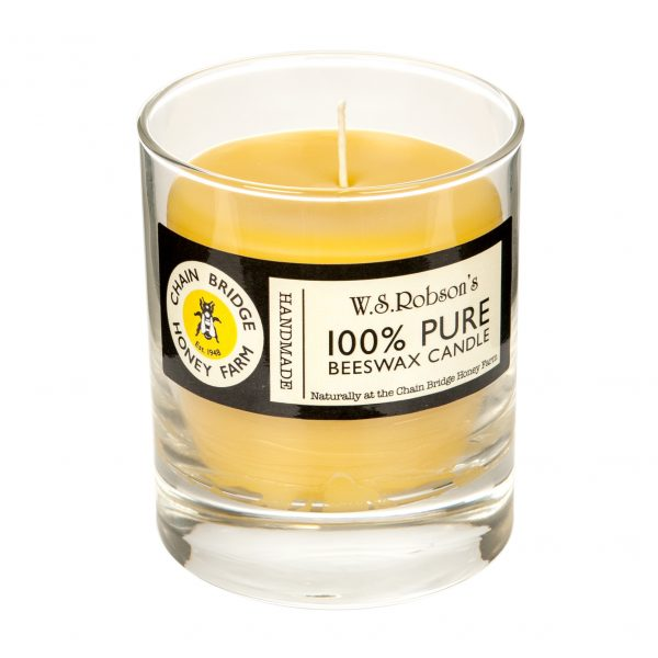 mediumglass candle