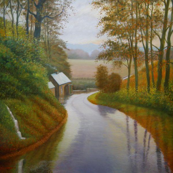 Norham Bridge Rain